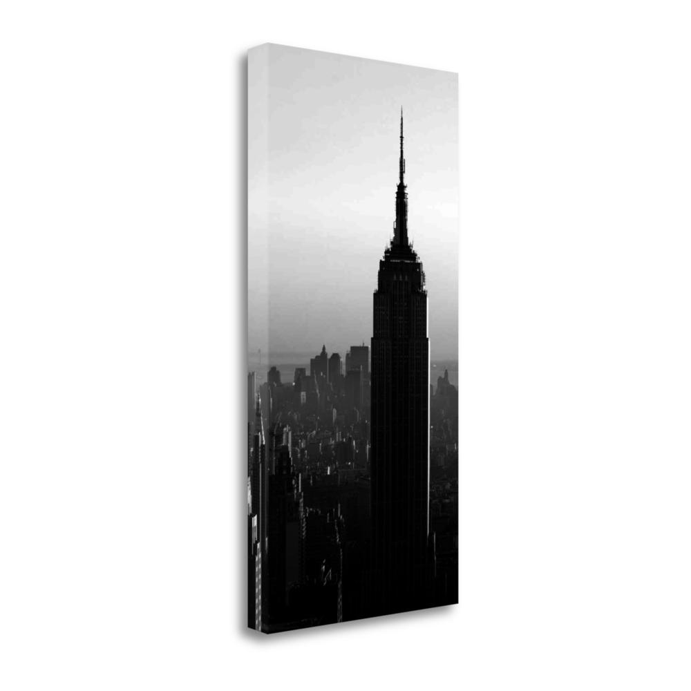 """""""Empire State"""" By Photoinc Studio, Giclee Print on Gallery Wrap Canvas. Picture 1"""