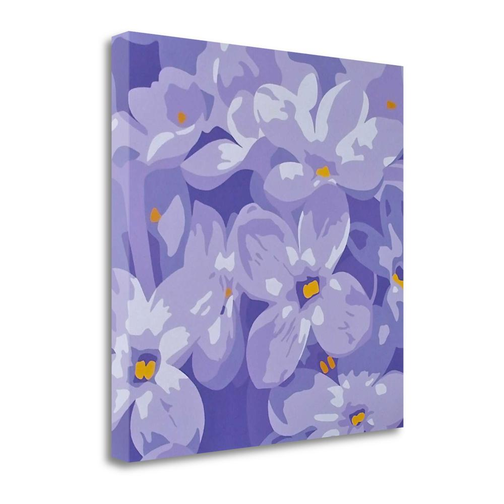 """Purple Passion"" By Susan Porter, Fine Art Giclee Print on Gallery Wrap Canvas, Ready to Hang. Picture 1"