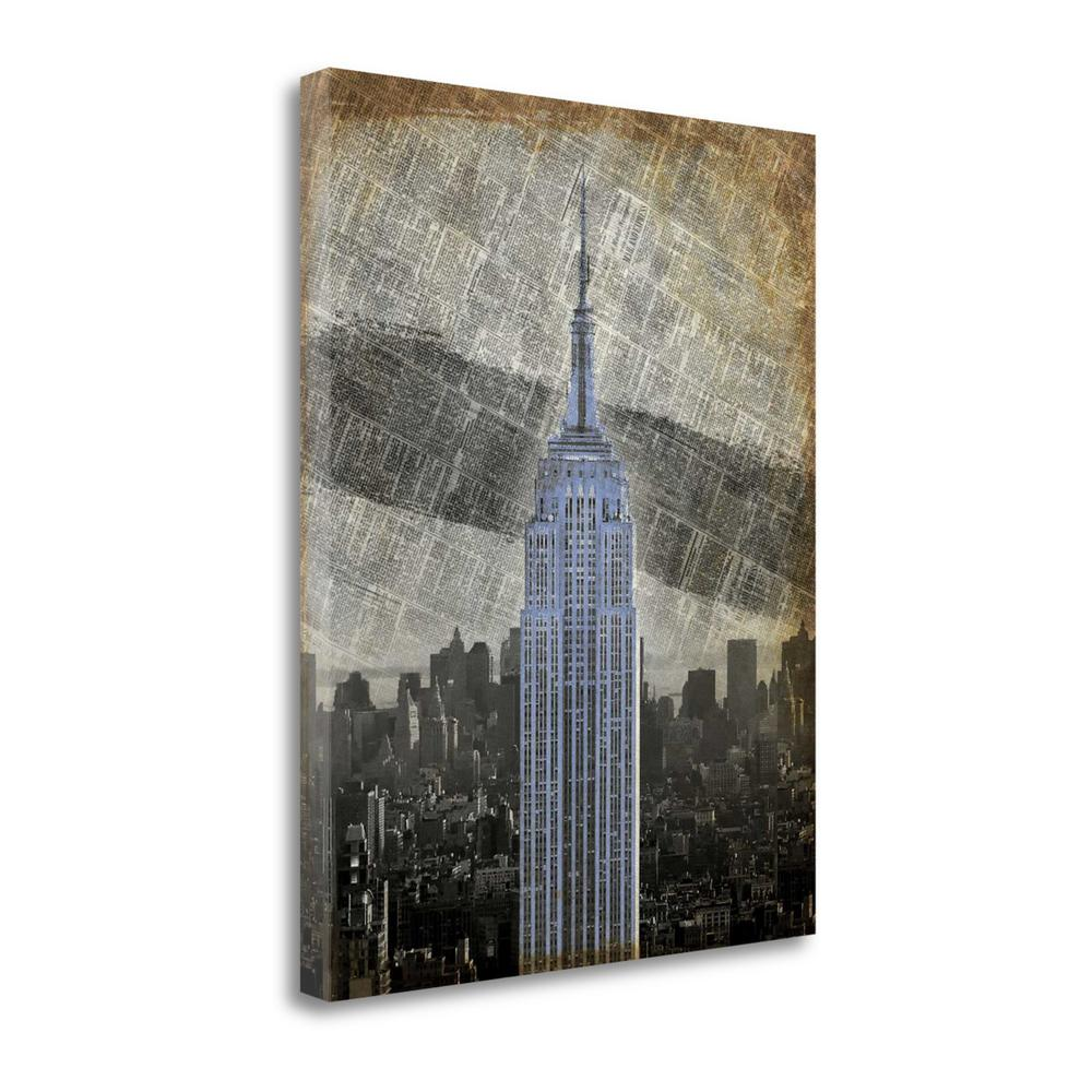 """New York II"" By Art Roberts, Fine Art Giclee Print on Gallery Wrap Canvas. Picture 1"