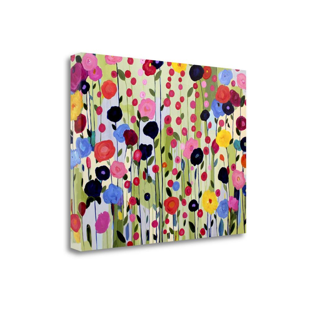 """""""She Found A Place To Bloom"""" By Carrie Schmitt, Giclee on Gallery Wrap Canvas. Picture 1"""