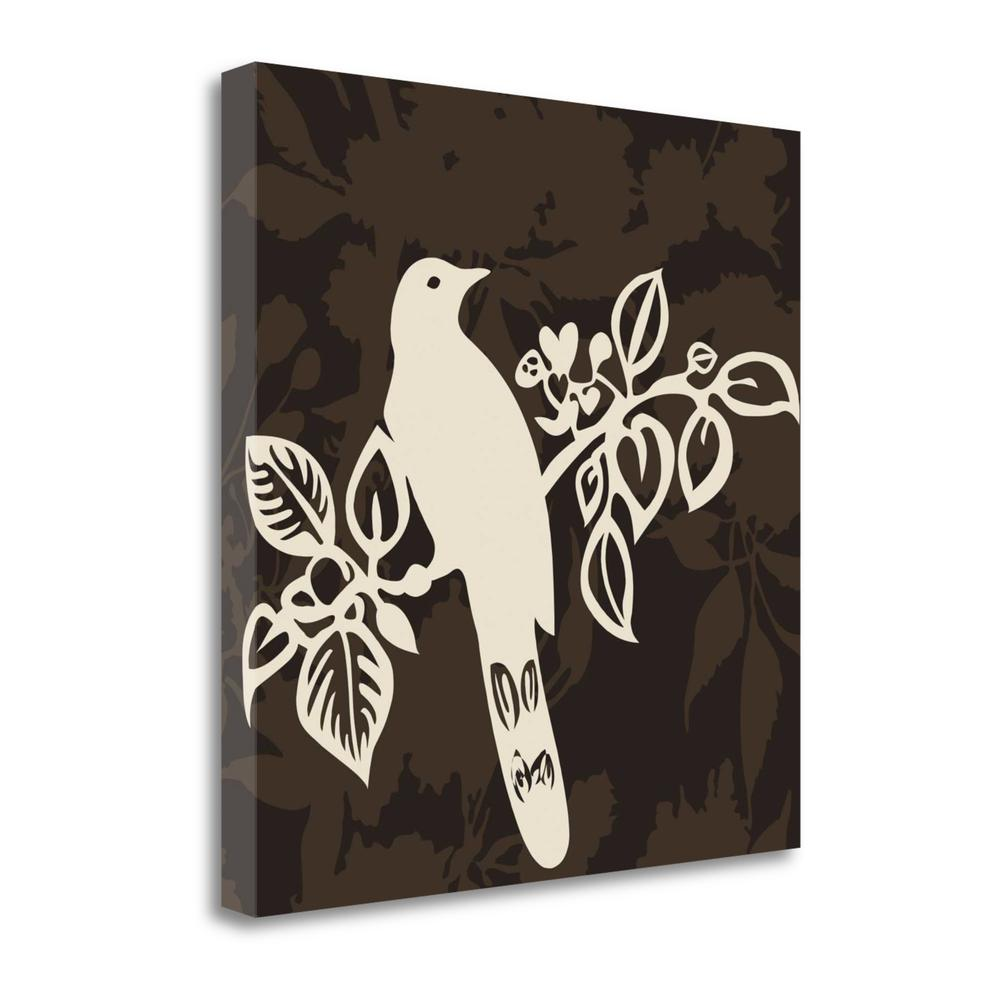 """""""Song Bird 2"""" By Jette Svane, Fine Art Giclee Print on Gallery Wrap Canvas. Picture 1"""