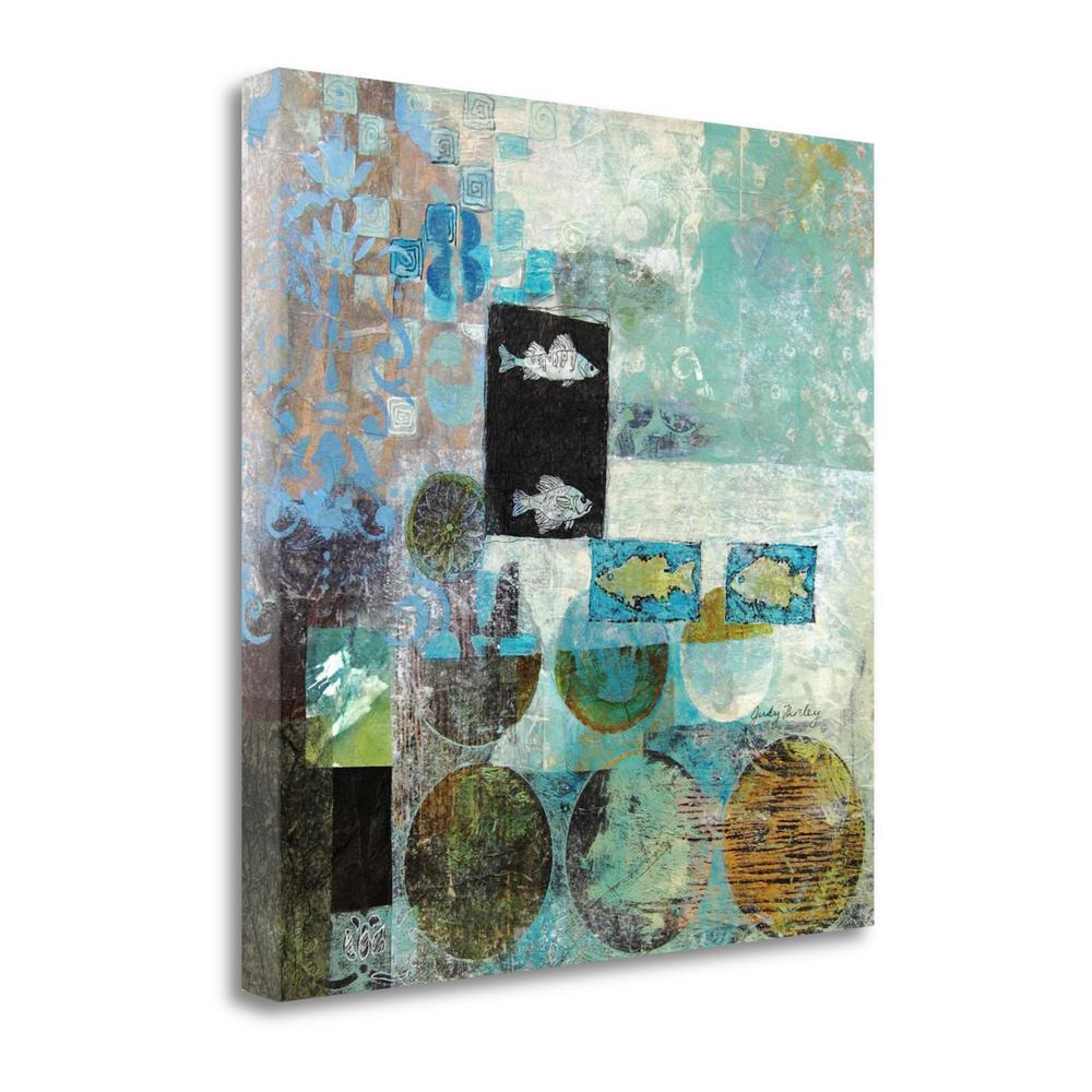 """""""Seaworthy"""" By Judy Thorley, Fine Art Giclee Print on Gallery Wrap Canvas. Picture 1"""