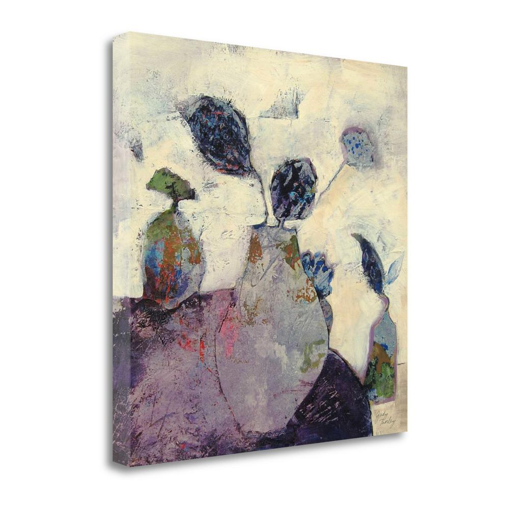"""""""Still Life In Lilac"""" By Judy Thorley, Giclee Print on Gallery Wrap Canvas. Picture 1"""