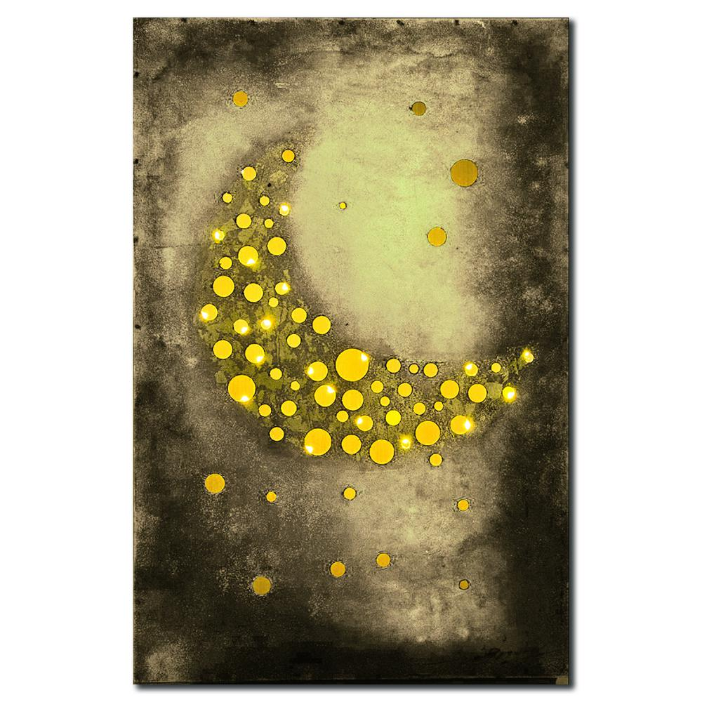 Quot The Moon Is Made Of Cheese Quot Attractive Metal Art Sculpture