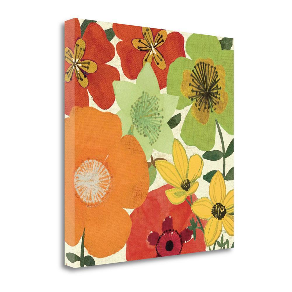 Quot Garden Brights I Quot By Pela Studio Fine Art Giclee Print