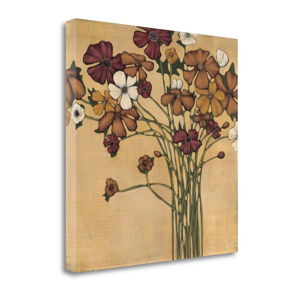 """""""Wandering Bouquet"""" By Maja, Fine Art Giclee Print on Gallery Wrap Canvas, 1.5"""" x 35"""", CAMPP110-3535c. Picture 1"""