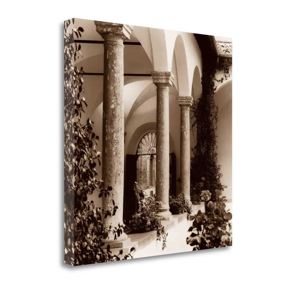 """Piazza Toscana"" By Alan Blaustein, Giclee Print on Gallery Wrap Canvas. Picture 1"