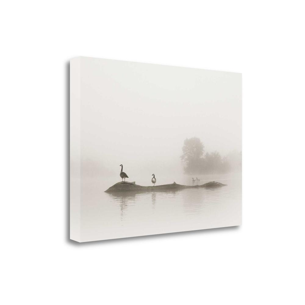 """Melton Lake"" By Nicholas Bell, Fine Art Giclee Print on Gallery Wrap Canvas"