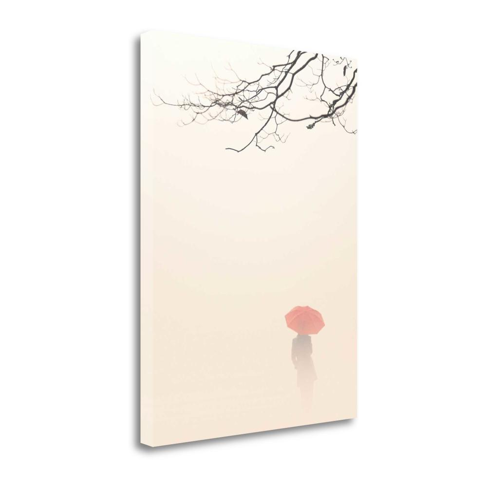 """""""In Autumn Fog"""" By Nicholas Bell, Fine Art Giclee Print on Gallery Wrap Canvas. Picture 1"""