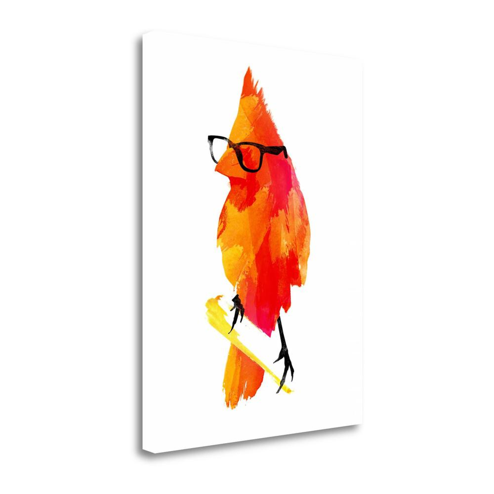 """Punk Bird"" By Robert Farkas, Fine Art Giclee Print on Gallery Wrap Canvas. Picture 1"