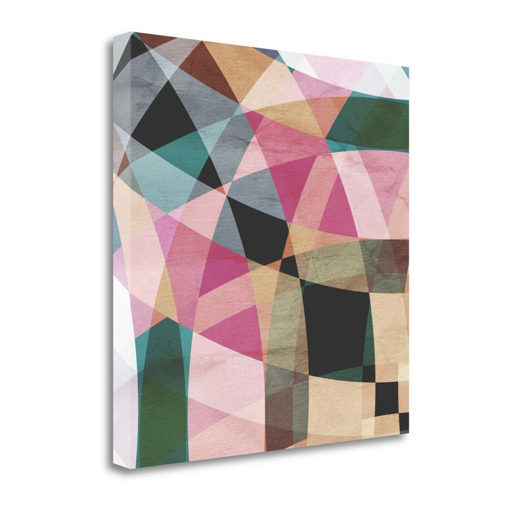 """Geometric Design 1"" By Graphinc Studio, Giclee Print on Gallery Wrap Canvas. Picture 1"