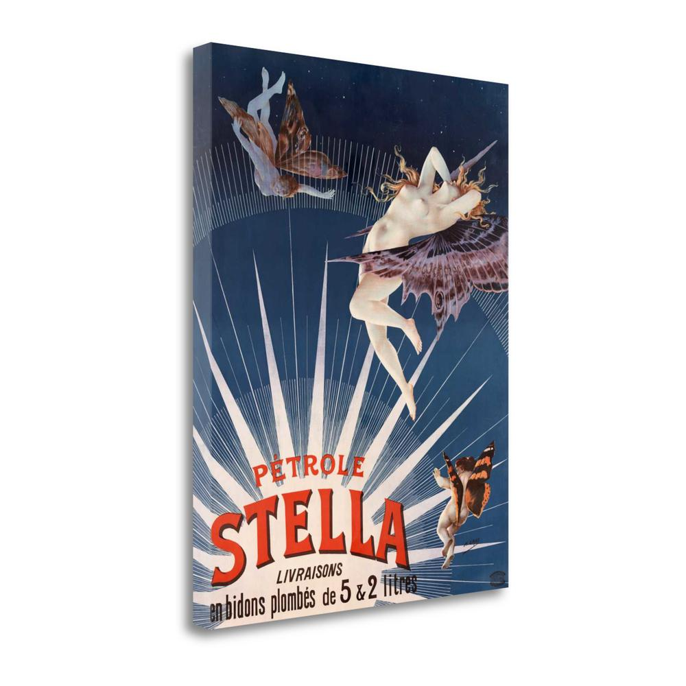 """P Trole Stella"" By Henri Gray, Fine Art Giclee Print on Gallery Wrap Canvas. Picture 1"