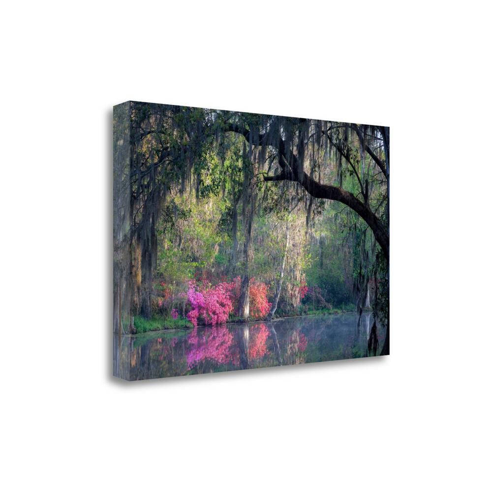 """""""Morning Serenity"""" By H.J. Herrera, Giclee Print on Gallery Wrap Canvas. Picture 1"""