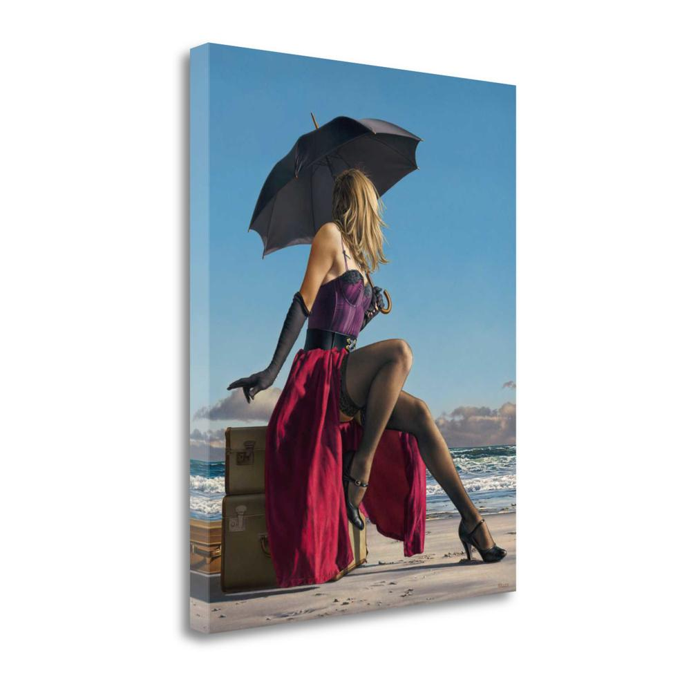 """""""On Crescent Beach"""" By Paul Kelley, Giclee Print on Gallery Wrap Canvas. Picture 1"""