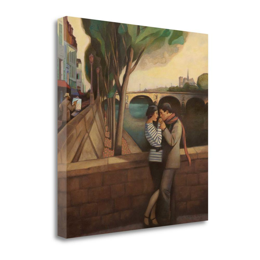 """""""April In Paris"""" By Gary Kelley, Fine Art Giclee Print on Gallery Wrap Canvas. Picture 1"""