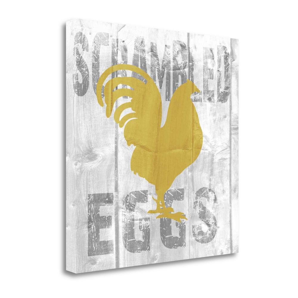 """""""Scrambled Eggs"""" By Alicia Soave, Fine Art Giclee Print on Gallery Wrap Canvas. Picture 1"""