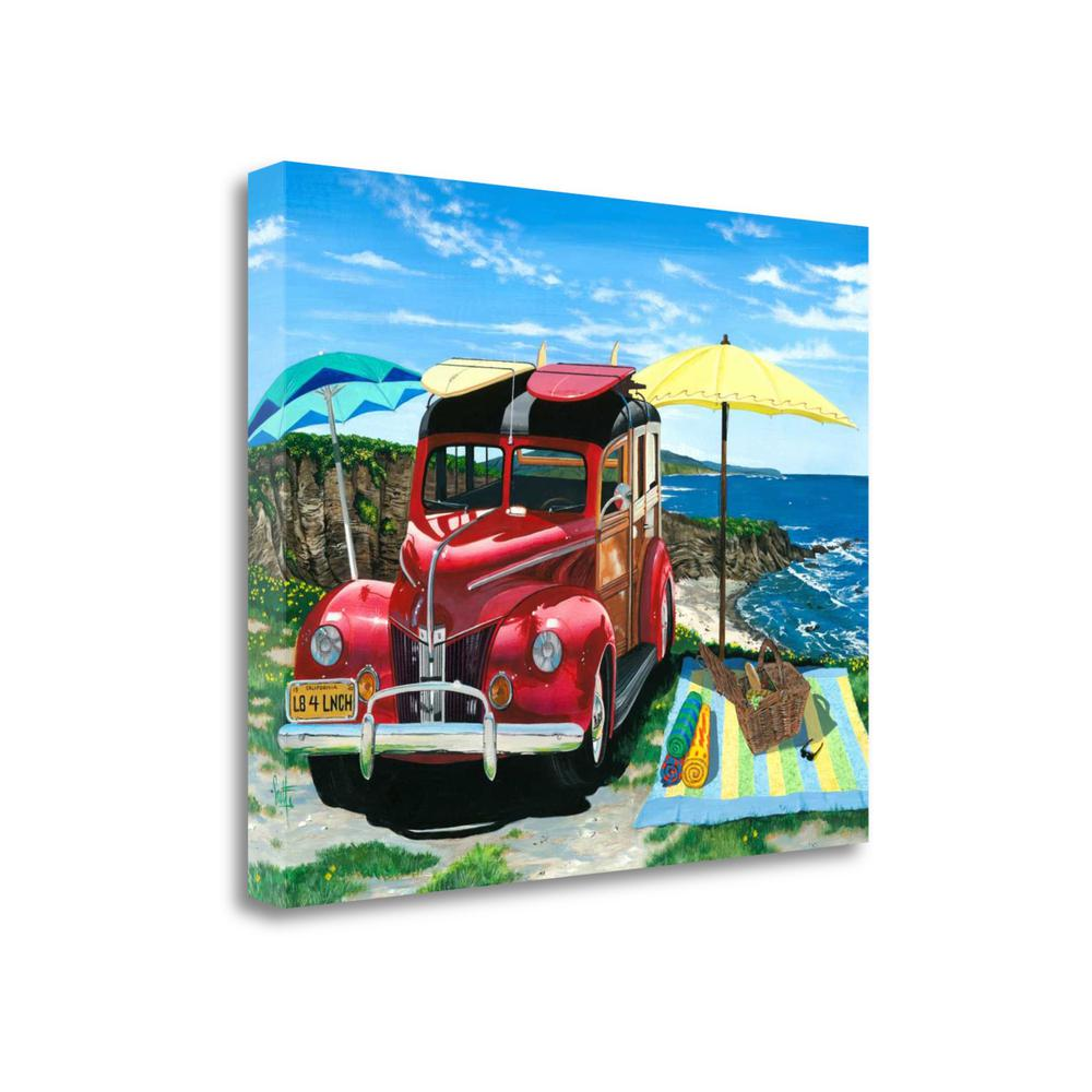 """Palisades Picnic"" By Scott Westmoreland, Giclee Print on Gallery Wrap Canvas. Picture 1"