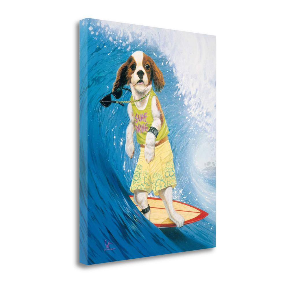 """Surf Dawg"" By Scott Westmoreland, Giclee Print on Gallery Wrap Canvas. Picture 1"