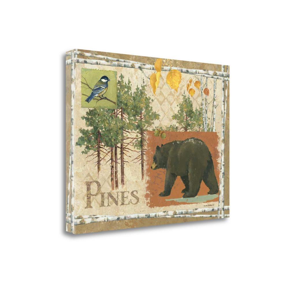 """Bl Bear Pines"" By Anita Phillips, Giclee Print on Gallery Wrap Canvas. Picture 1"