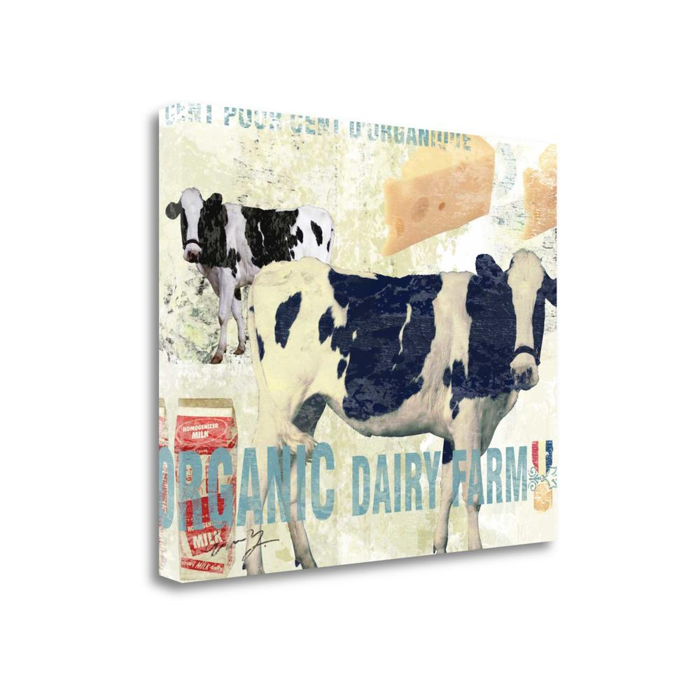 """""""Organic Dairy Farm"""" By Eric Yang, Giclee Print on Gallery Wrap Canvas, 1.5"""" x 25"""", BAEY19300-3226c. Picture 1"""