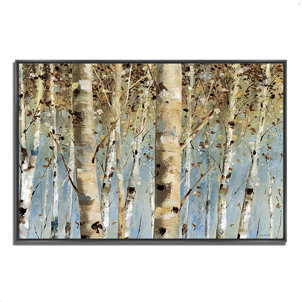 White Forest I by Lisa AuditFramed Painting Print Framed Painting Print. Picture 1
