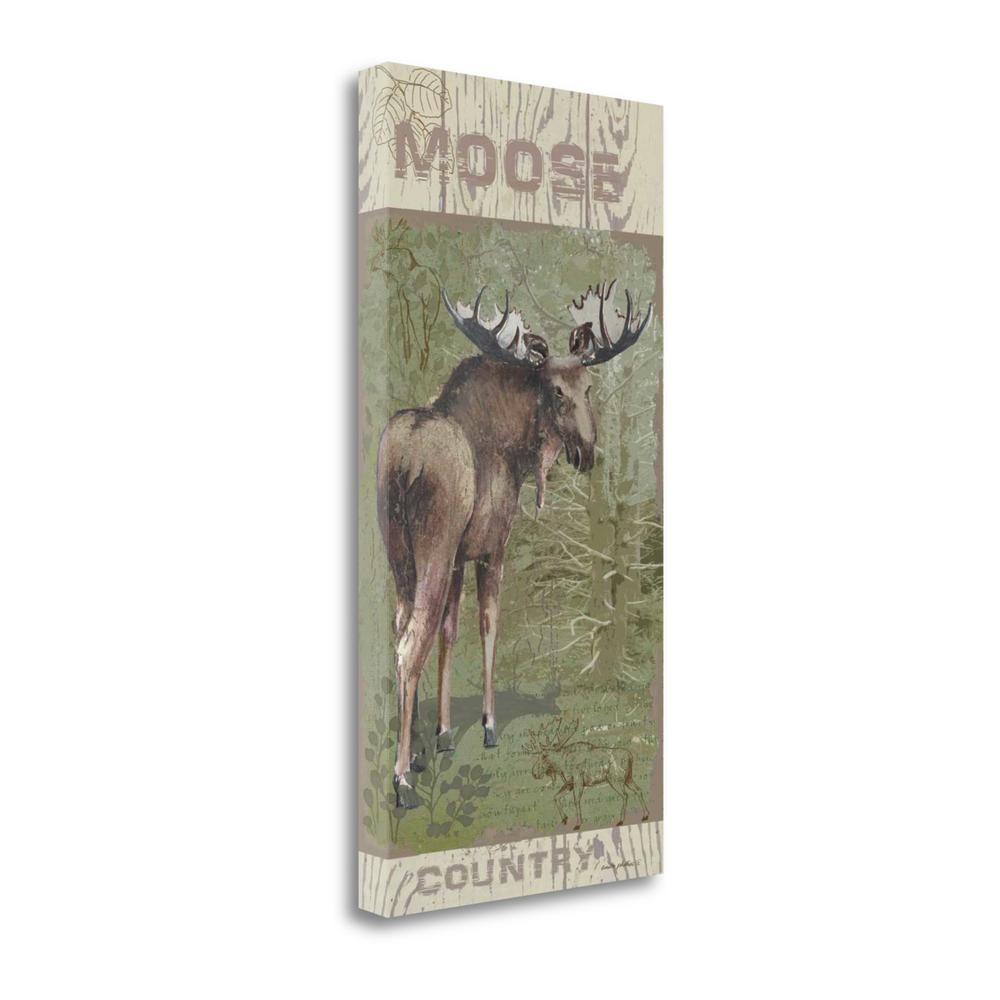 """""""Moose Country"""" By Anita Phillips, Giclee Print on Gallery Wrap Canvas. Picture 1"""