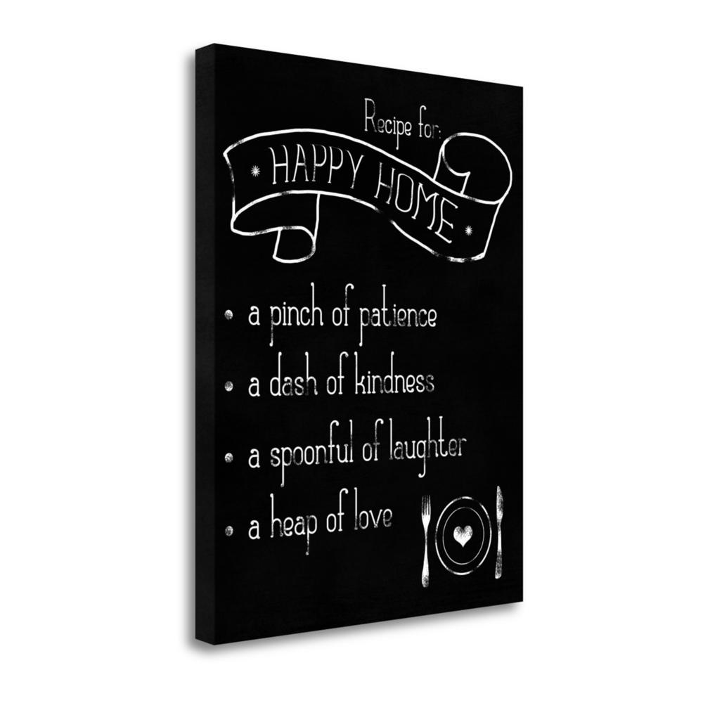 """Happy Home Recipe"" By Anna Quach, Giclee Print on Gallery Wrap Canvas. Picture 1"