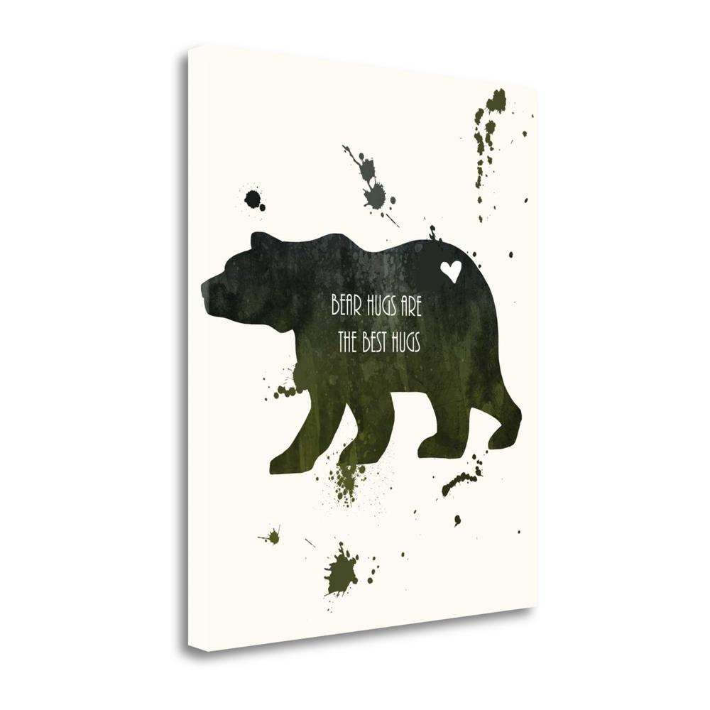 """""""Bear"""" By Anna Quach, Fine Art Giclee Print on Gallery Wrap Canvas. Picture 1"""