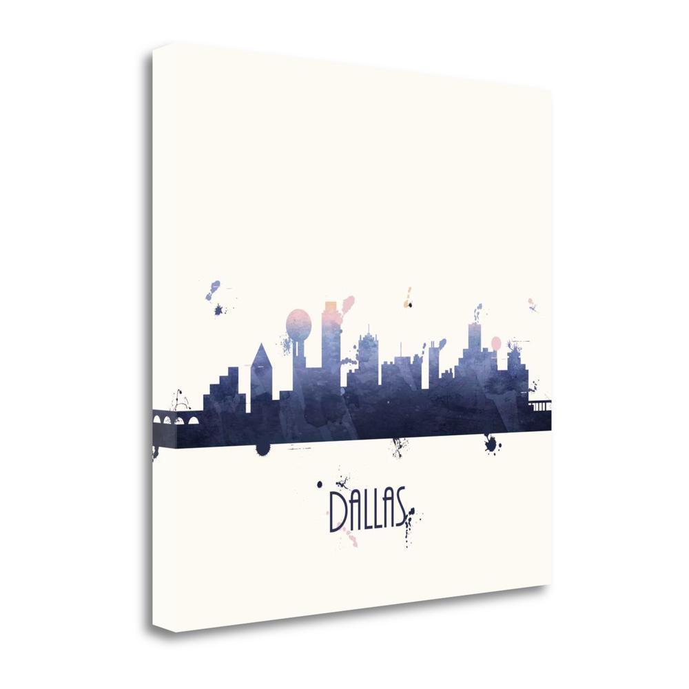 """Dallas - Sq."" By Anna Quach, Fine Art Giclee Print on Gallery Wrap Canvas. Picture 1"