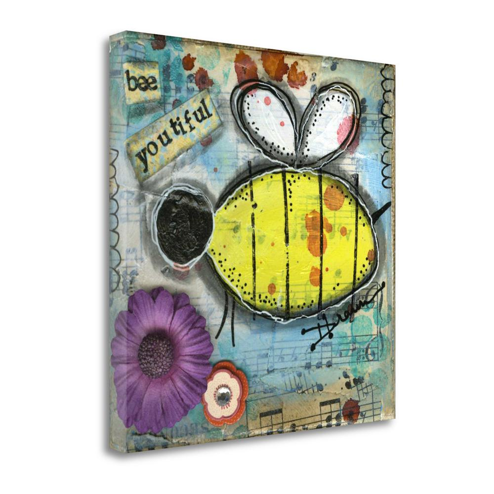 """""""Bee Youtiful"""" By Denise Braun, Fine Art Giclee Print on Gallery Wrap Canvas. Picture 1"""
