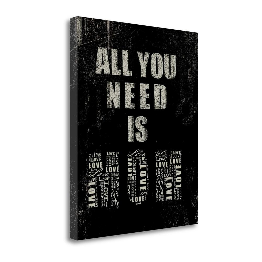 """""""All You Need Is Mom"""" By Jim Baldwin, Giclee Print on Gallery Wrap Canvas. Picture 1"""