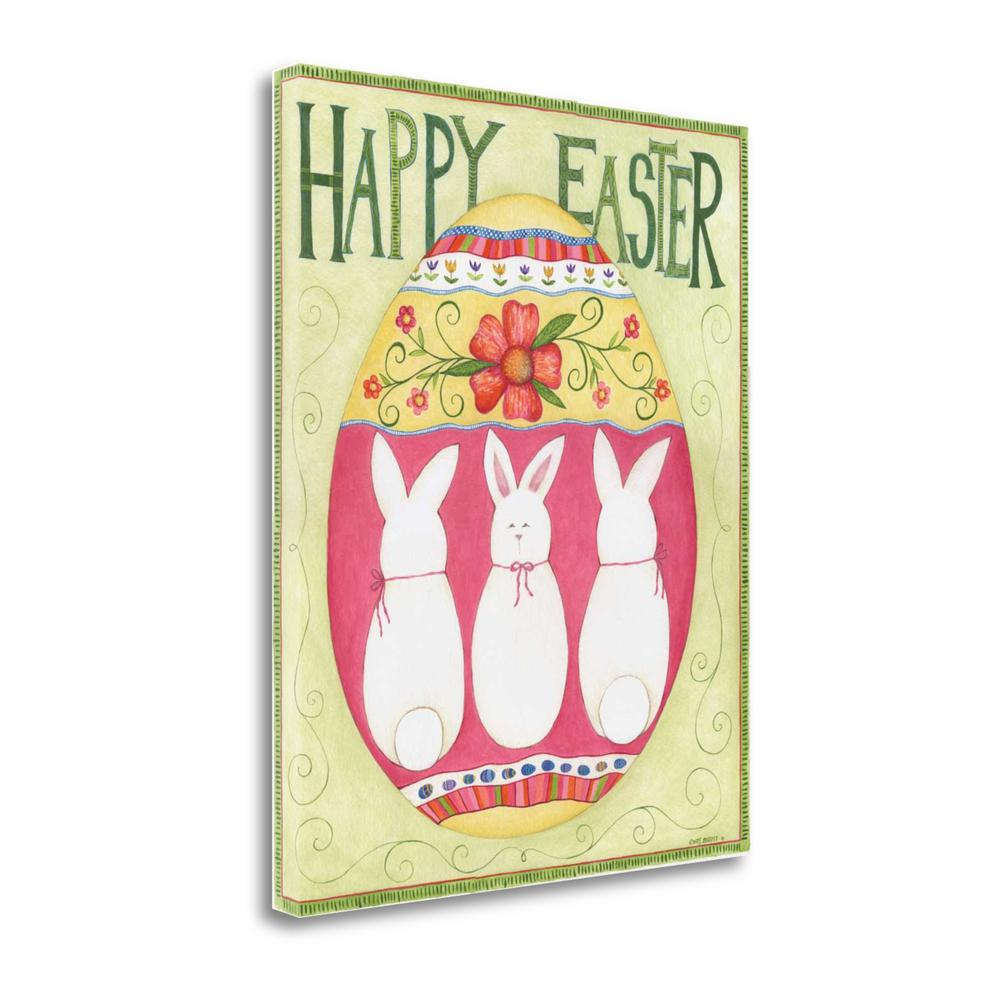 """Easter Happy II"" By Cindy Shamp, Fine Art Giclee Print on Gallery Wrap Canvas. Picture 1"