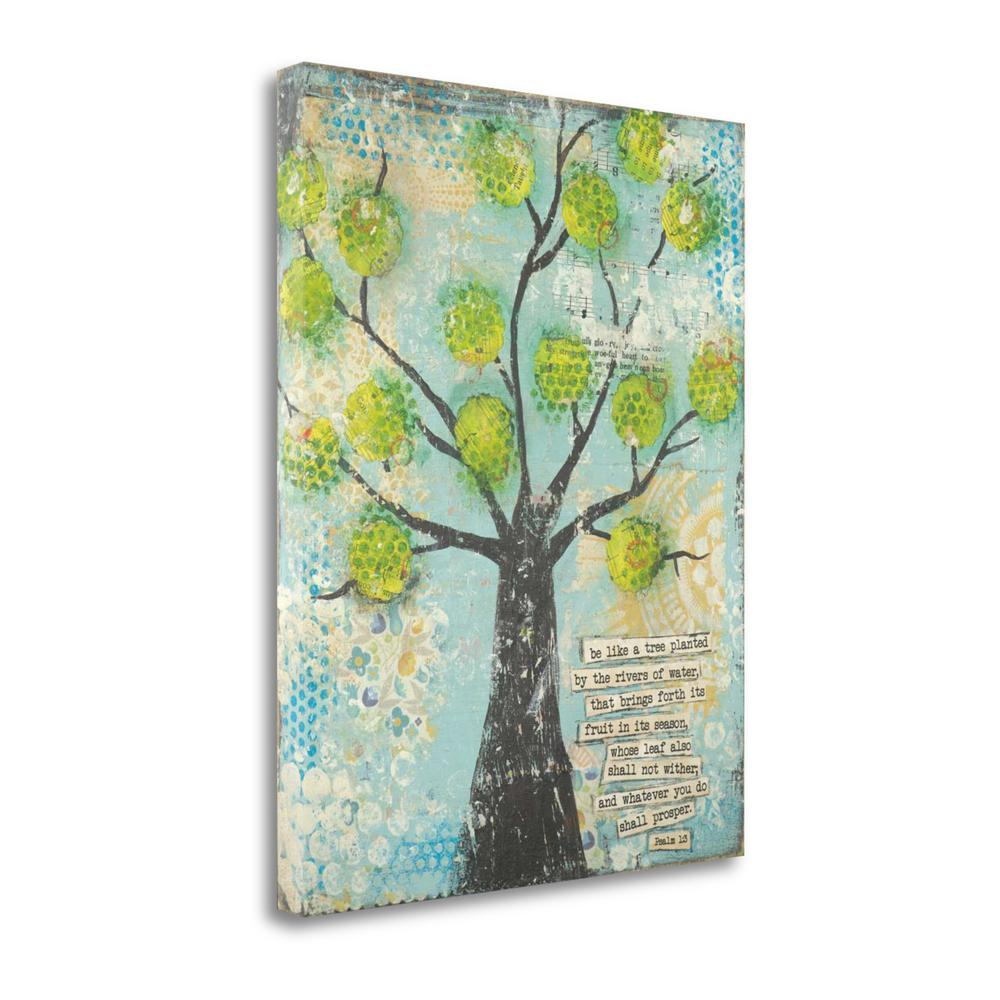 """""""Be Like A Tree"""" By Cassandra Cushman, Fine Art Giclee Print on Gallery Wrap Canvas, Ready to Hang. Picture 1"""