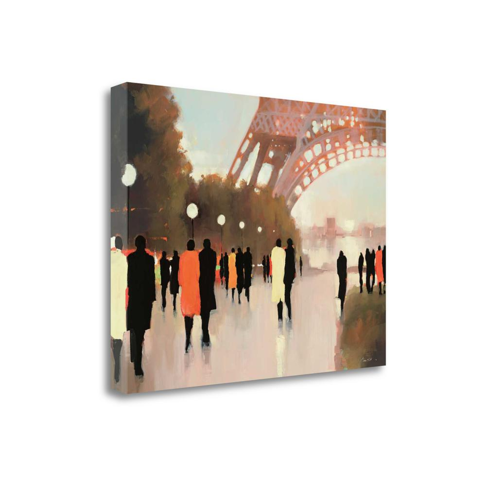 """""""Paris Remembered"""" By Lorraine Christie, Giclee Print on Gallery Wrap Canvas. Picture 1"""