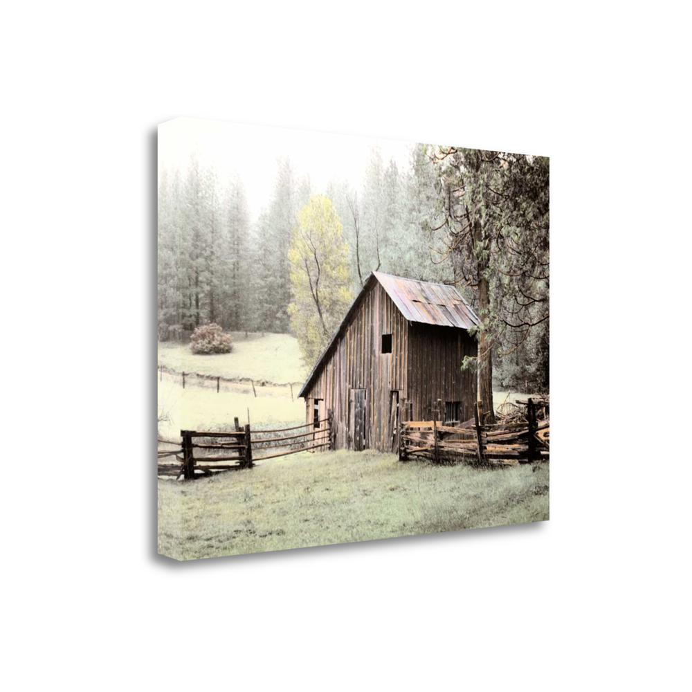 """""""Barn Near Sonora"""" By Laura Culver, Giclee Print on Gallery Wrap Canvas. Picture 1"""