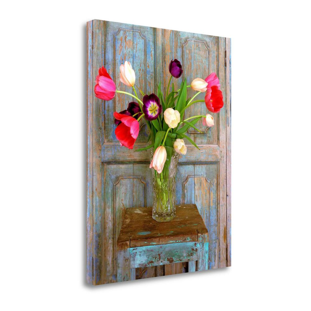 """""""Tulips, Mexico"""" By Alan Klug, Fine Art Giclee Print on Gallery Wrap Canvas. Picture 1"""