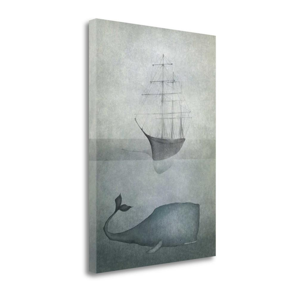 """""""Deep Water"""" By Majali, Fine Art Giclee Print on Gallery Wrap Canvas. Picture 1"""