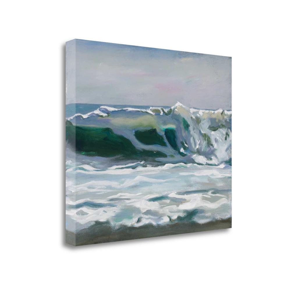 """Shore Break 2"" By Stephen Newstedt, Giclee Print on Gallery Wrap Canvas"