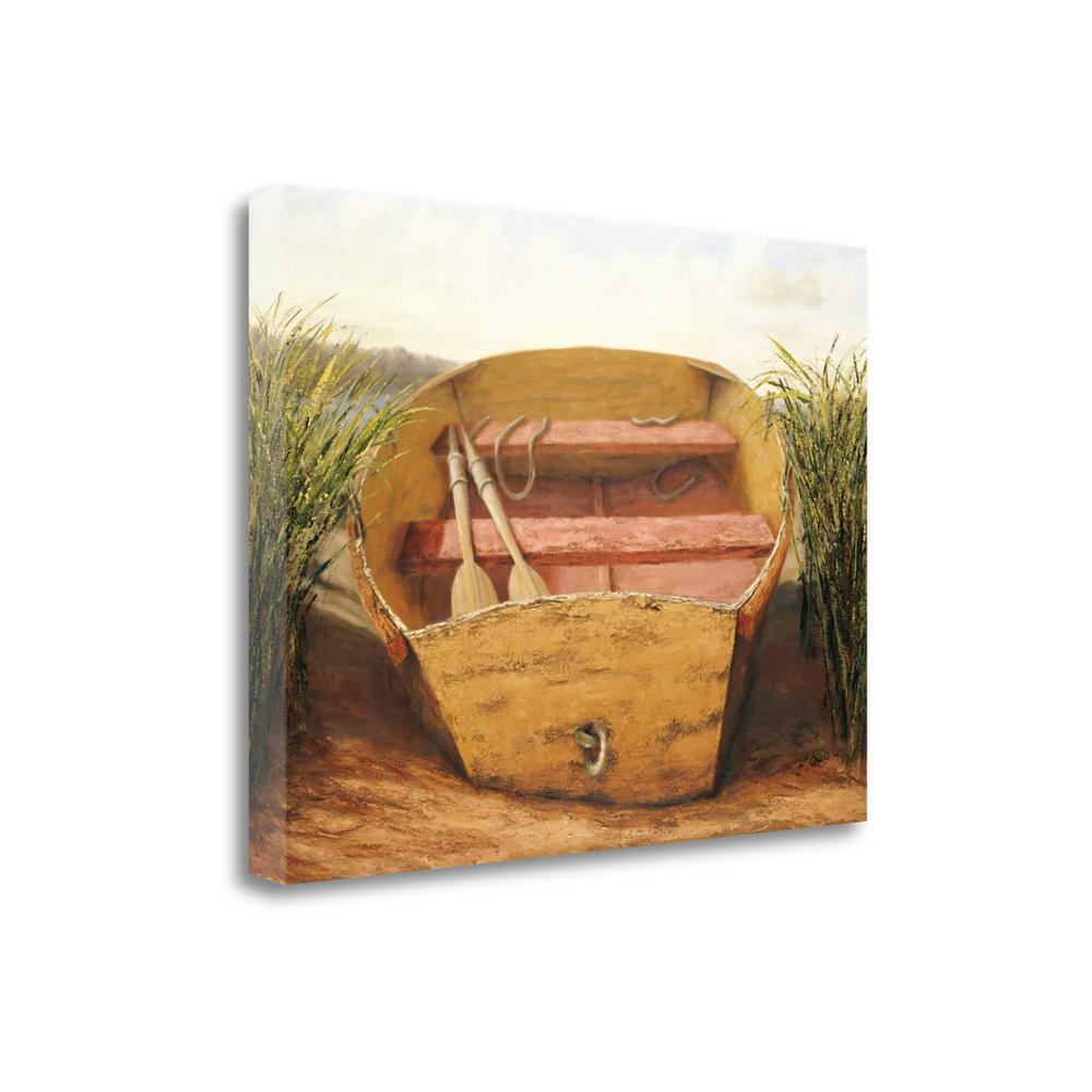 """""""Beached Dinghy"""" By Karl Soderlund, Giclee Print on Gallery Wrap Canvas. Picture 1"""