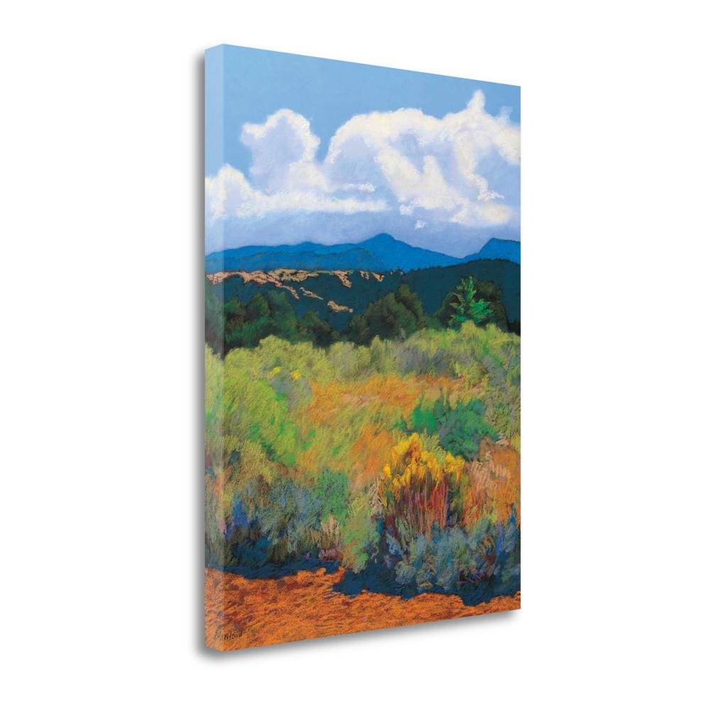 """Distant Hills"" By Mary Silverwood, Giclee Print on Gallery Wrap Canvas. Picture 1"