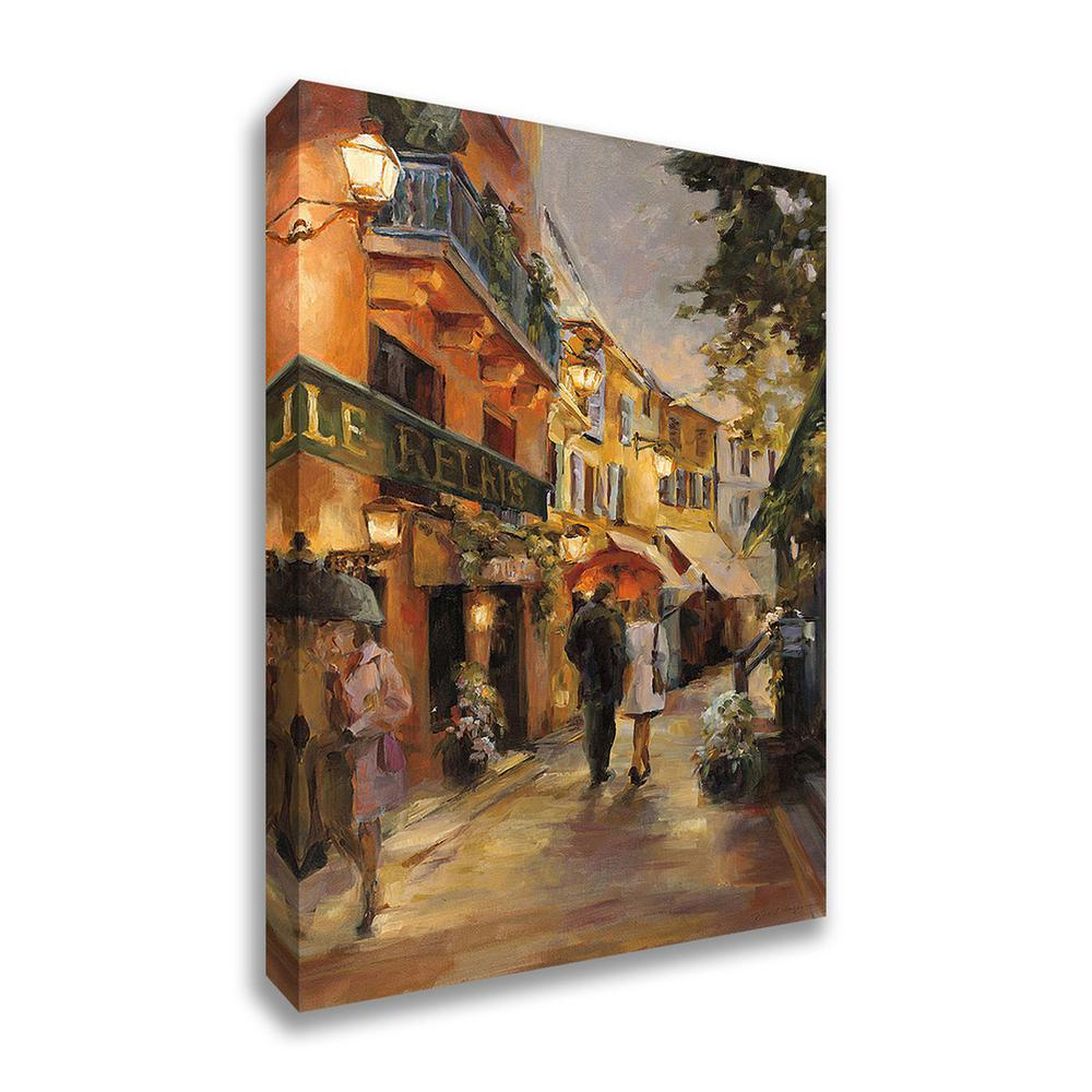 "Evening in Paris  by Marilyn HagemanFramed Painting Print Framed Painting Print, 20"" x 30"", 14233-2030c. Picture 1"