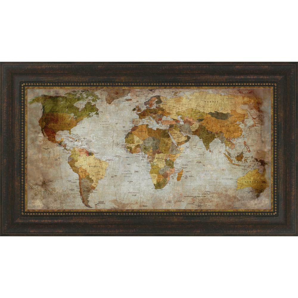 """""""Anima Mundi"""" By Joannoo, Framed Wall Art, Ready to Hang. Picture 1"""