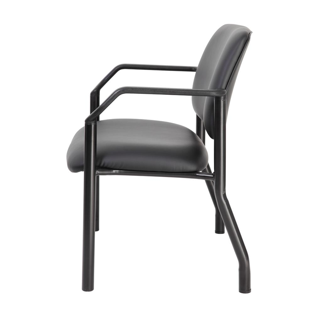 Boss Antimicrobial Guest Chair, 500 lb. weight capacity. Picture 1
