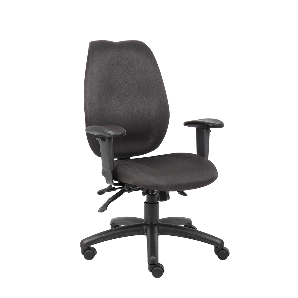 Boss Black High Back Task Chair. Picture 1