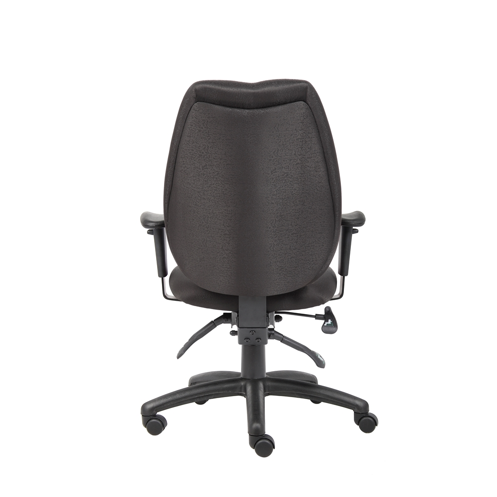 Boss Black High Back Task Chair. Picture 2