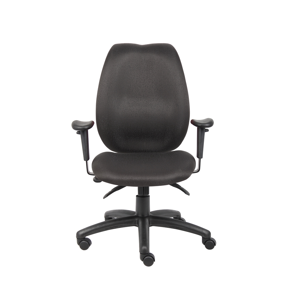 Boss Black High Back Task Chair. Picture 3