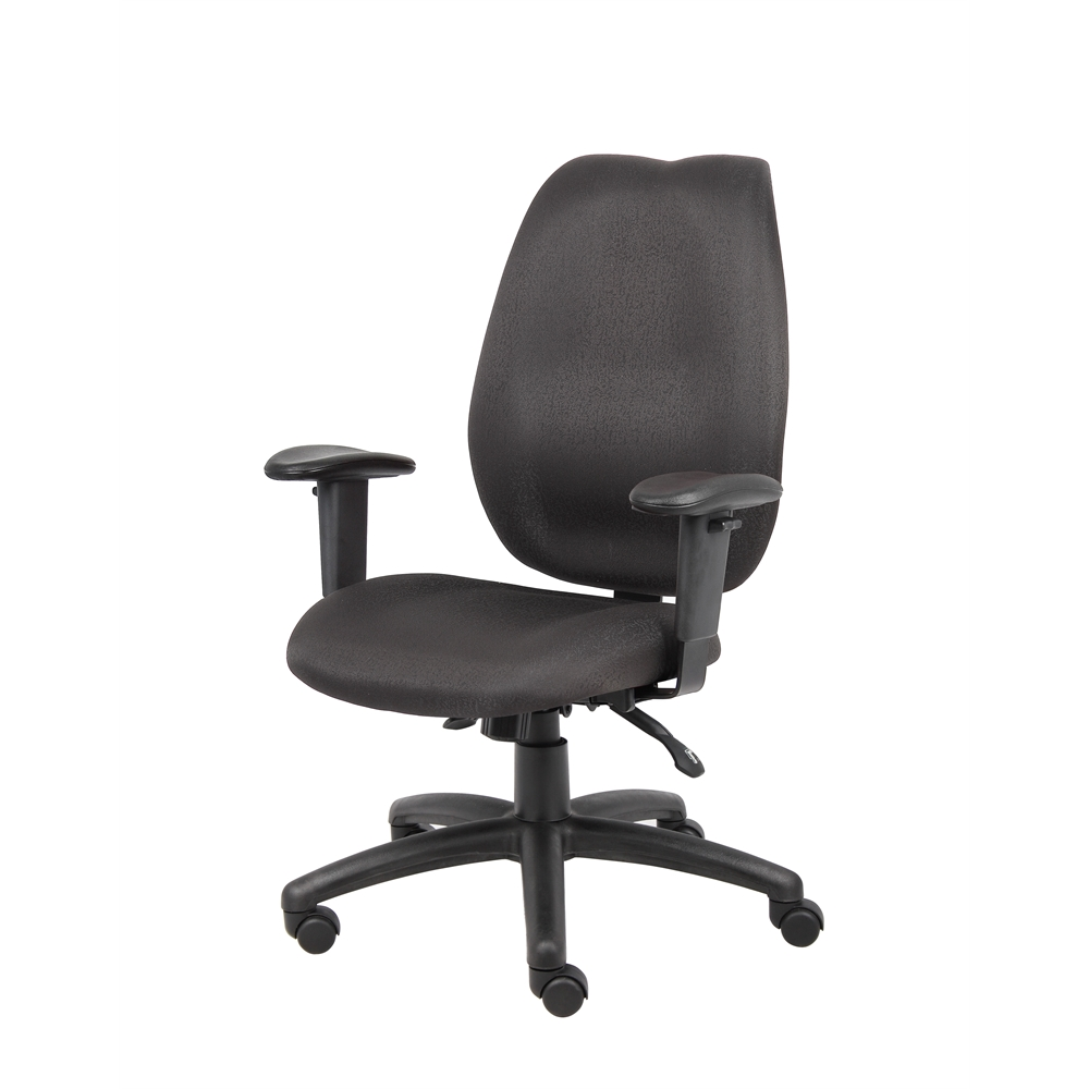 Boss Black High Back Task Chair. Picture 4