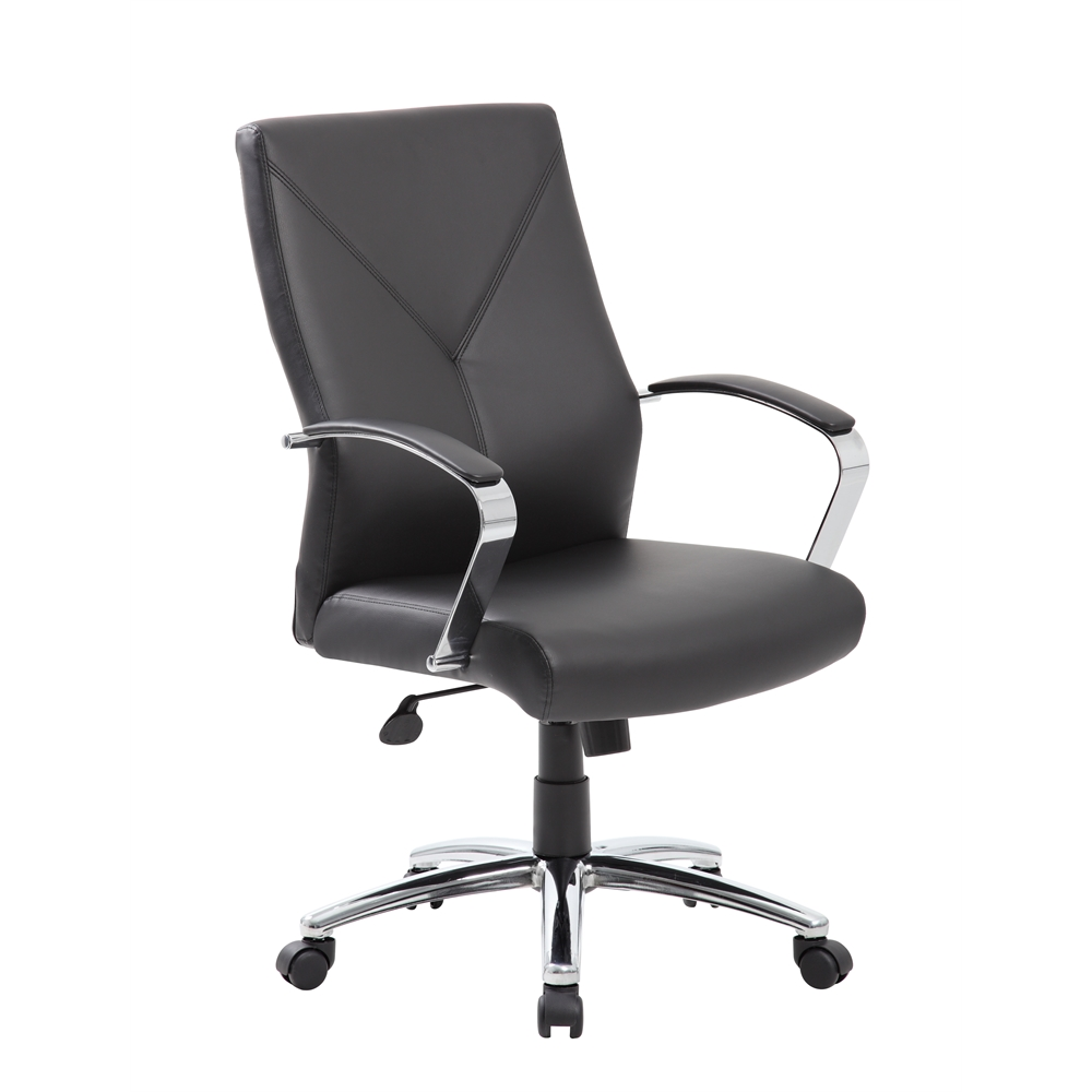 Boss LeatherPlus Executive Chair. Picture 1