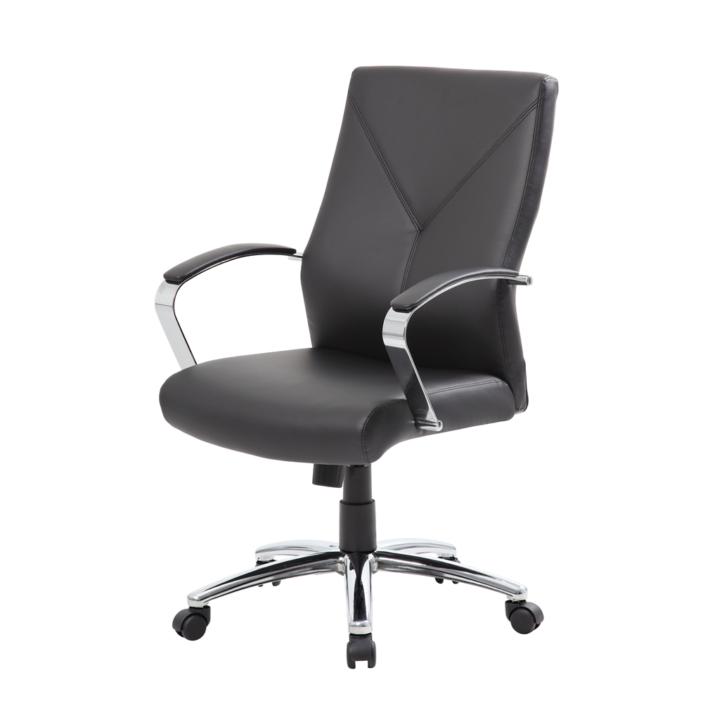 Boss LeatherPlus Executive Chair. Picture 4