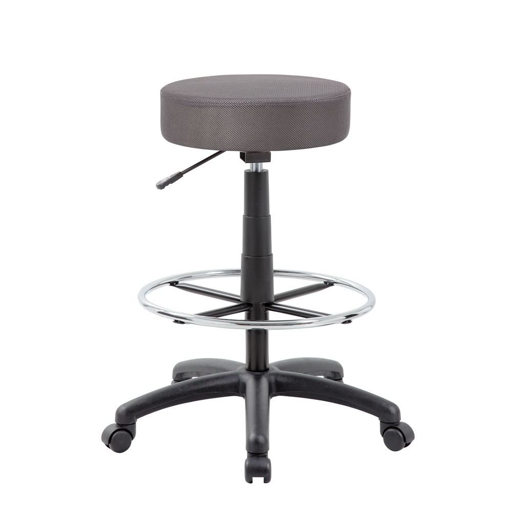 The DOT drafting stool, Charcoal Grey. Picture 1